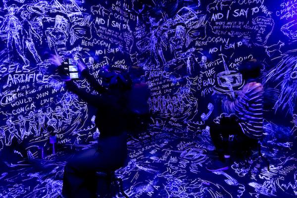 1 Header PHI Studio Chalkroom Laurie Anderson Cadavre Exquis05 Sandra Larochelle