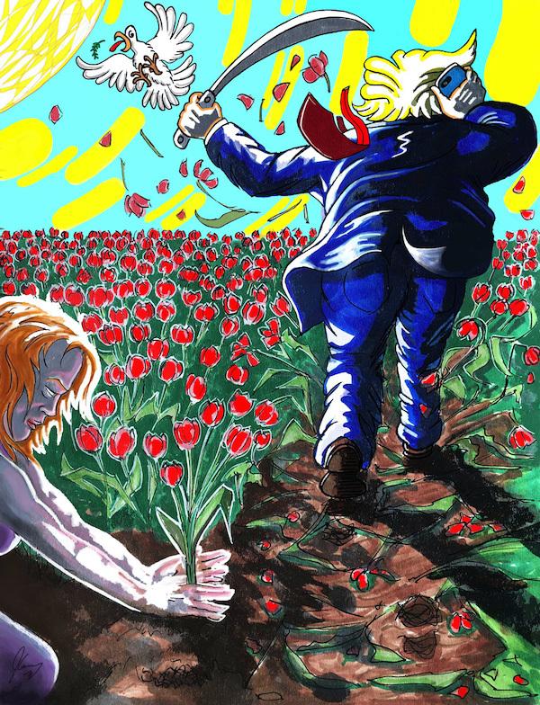 Earth Needs Gardeners, 2019 - Jim Carrey