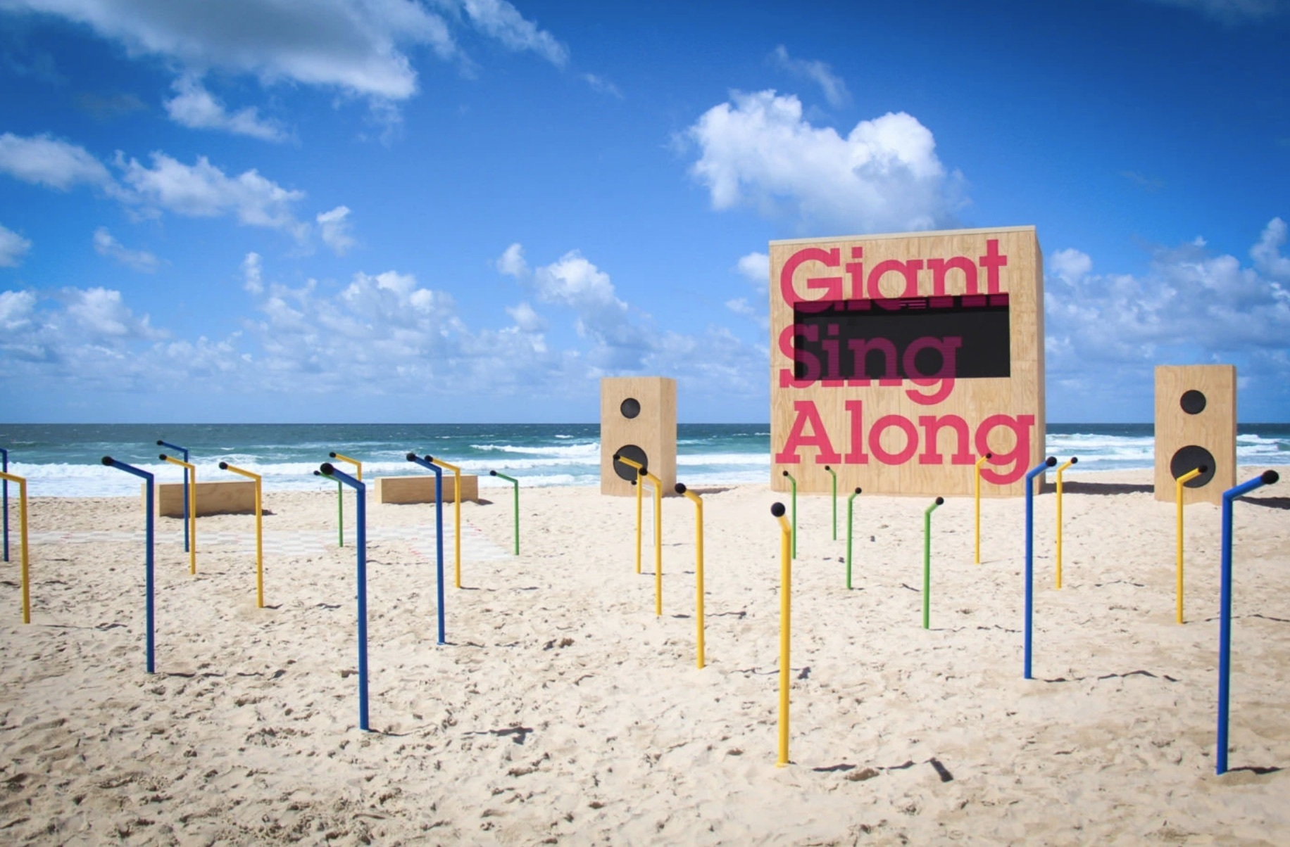 Giant Sing Along - Daily Tous les Jours