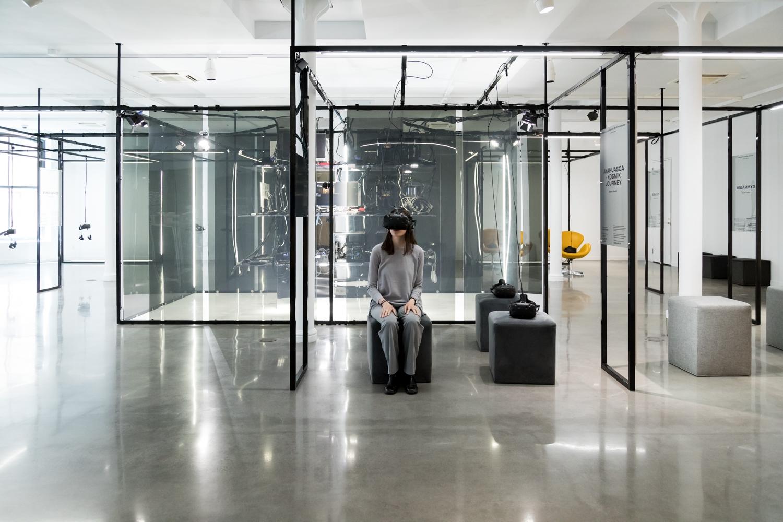 Humain Installation xr exhibitions PHI Studio Sandra Larochelle