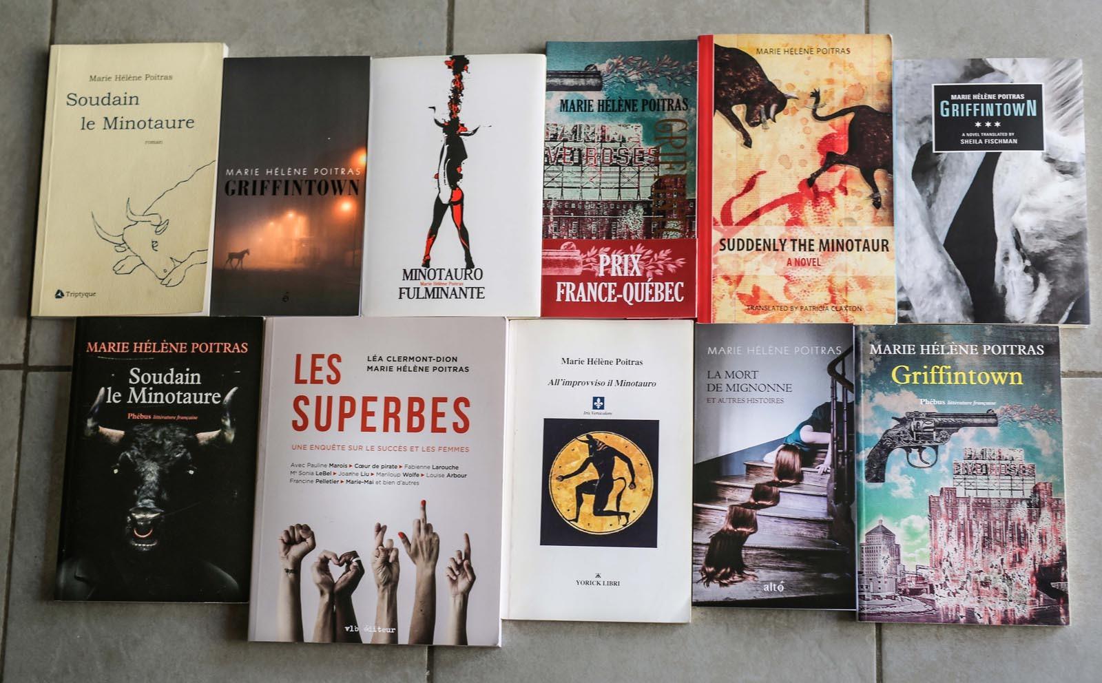 Livres de Marie Hélène Poitras