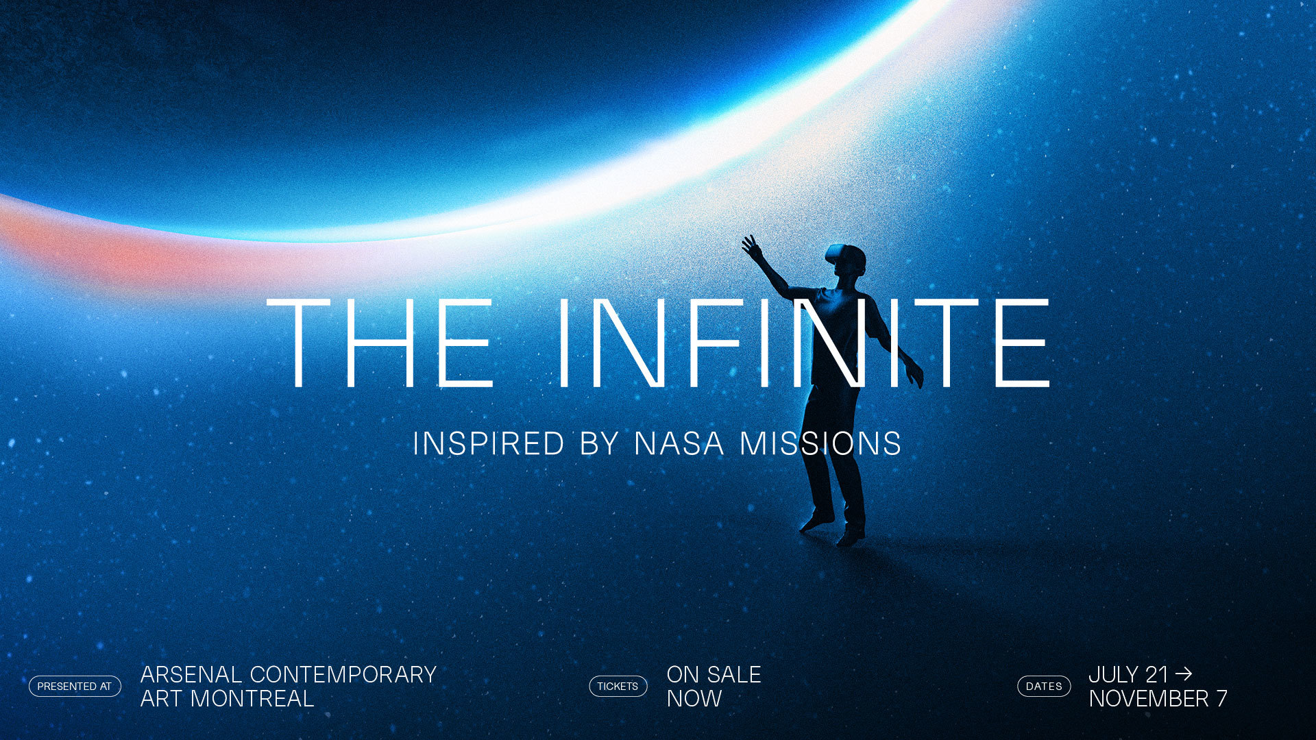 PHI presents THE INFINITE: a multisensory and interactive virtual reality exhibition