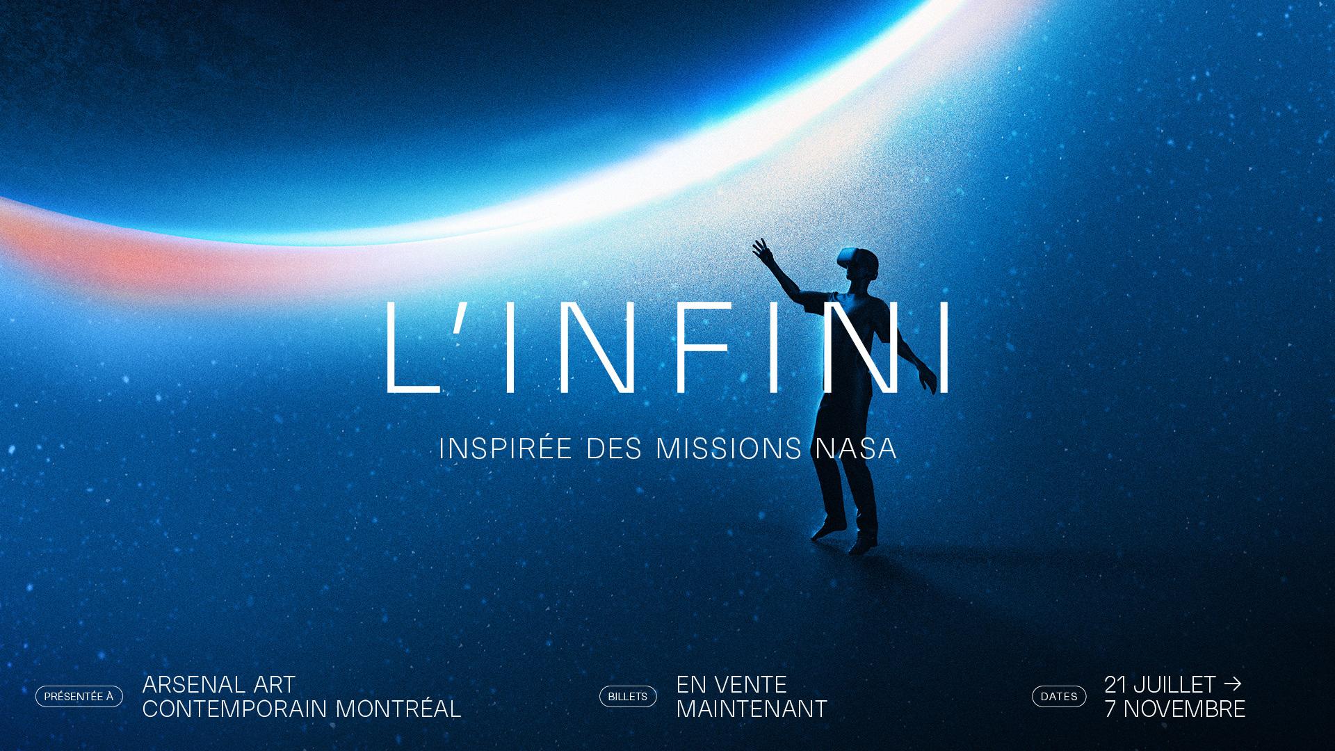 PHI présente L'INFINI: une exposition multisensorielle et interactive en réalité virtuelle