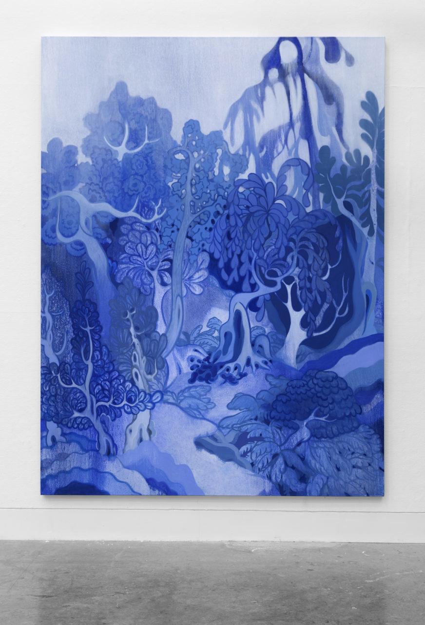RL Wild Willow 2019 oil on canvas 96x72 872x1280
