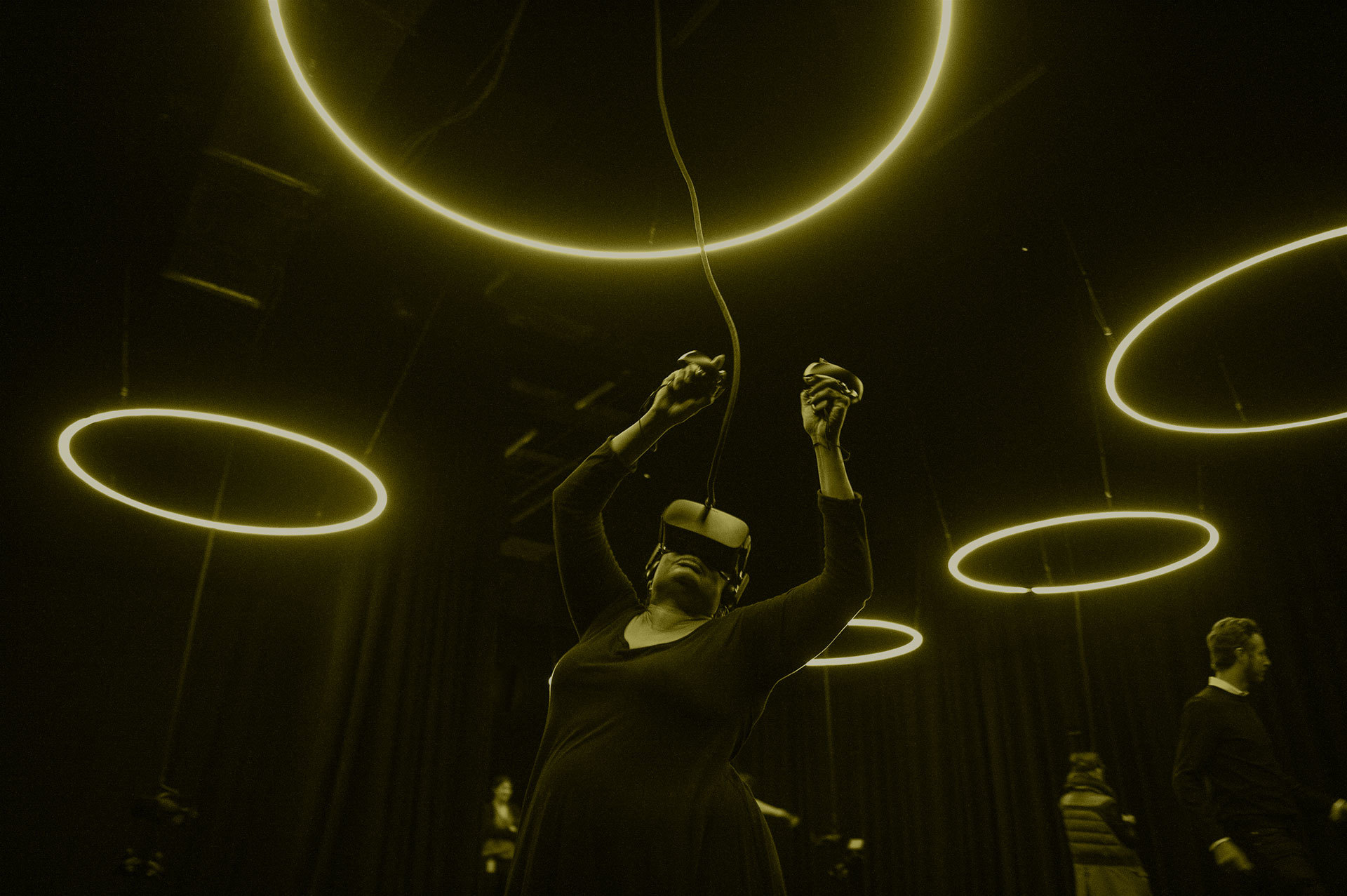 Installation Spheres, Rockefeller Center, Crédit: Kat Harris