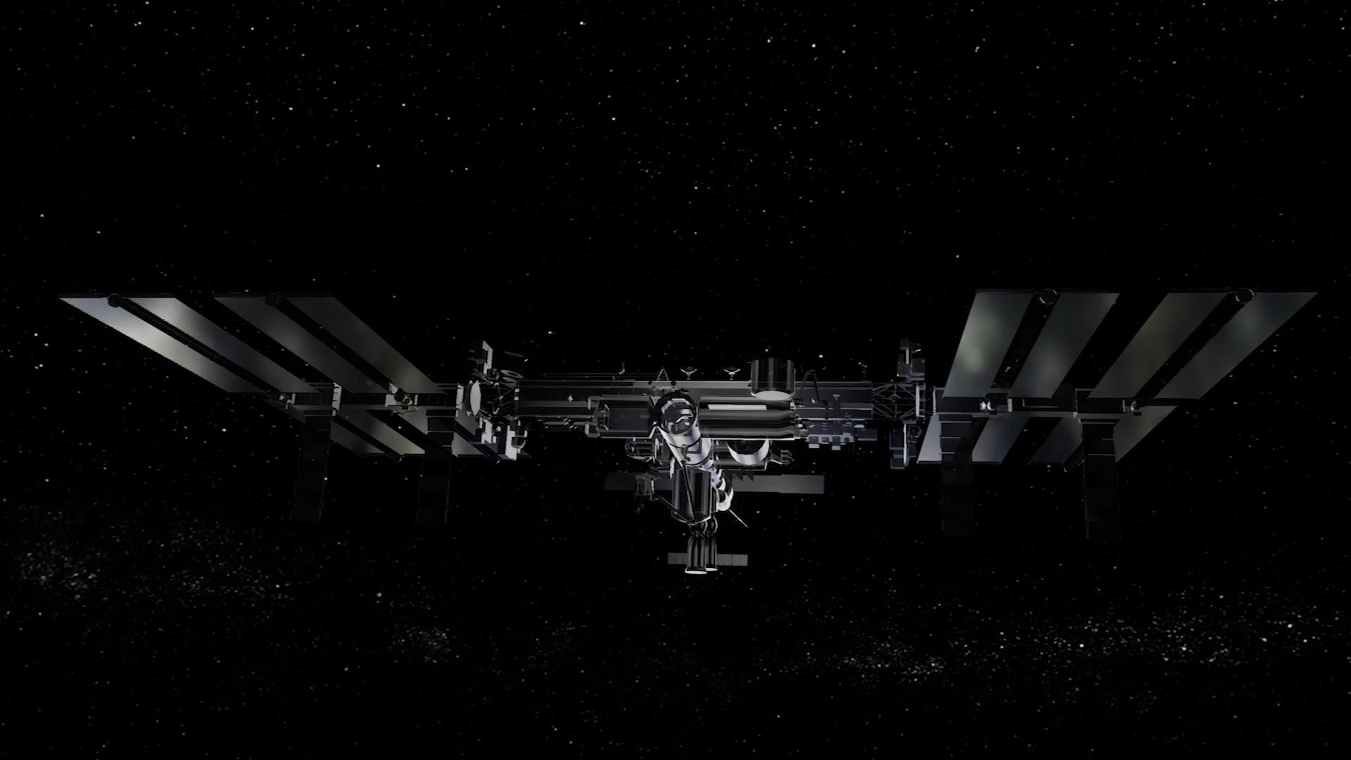 Simulation en temps réel de la Station spatiale internationale