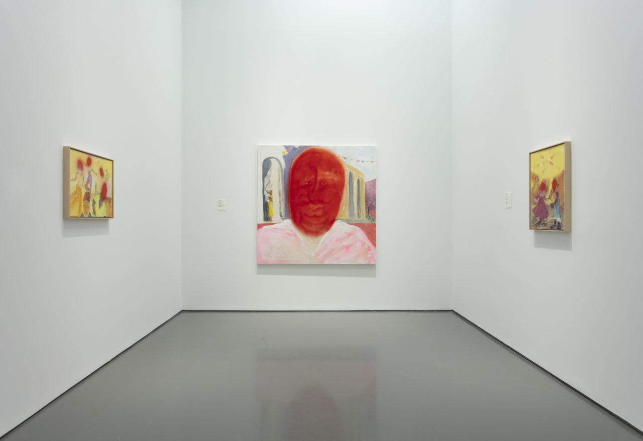 Vue d'exposition - RELATIONS: la diaspora et la peinture