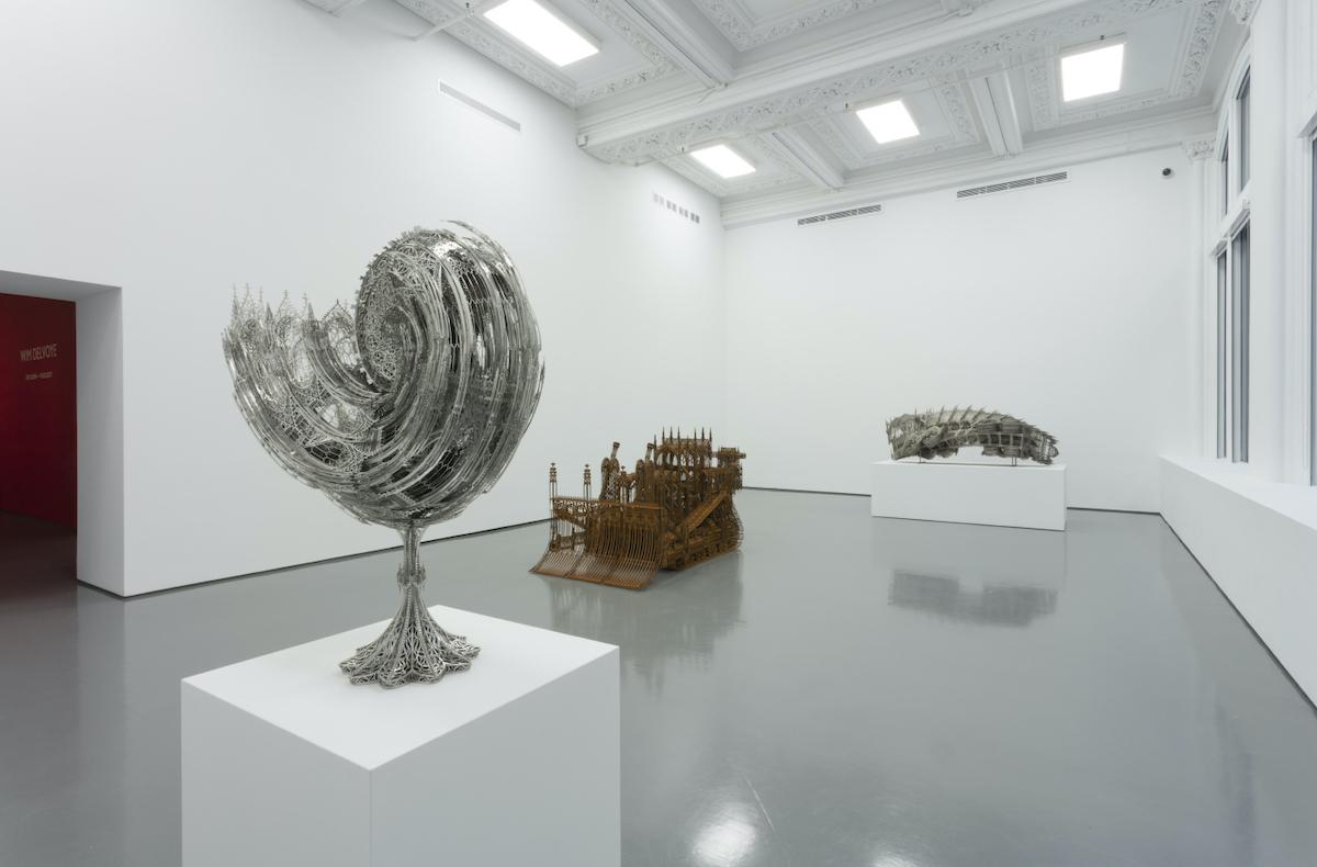 Wim Delvoye - Vue d'exposition