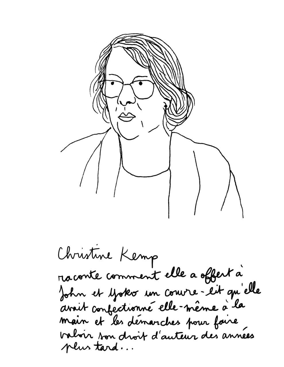 Yoko Ono et John Lennon: bed-in à Montreal - Christine Kemp